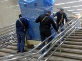 Подъем оборудования на этаж